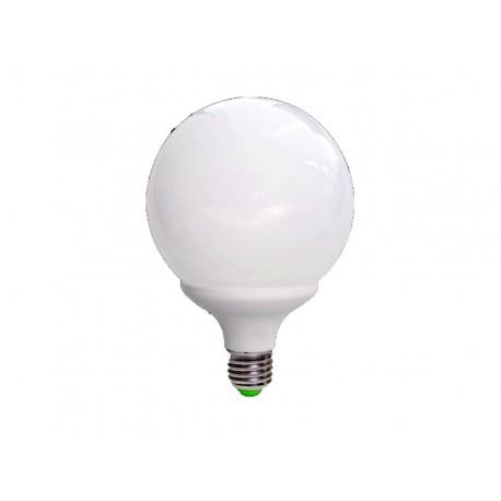 LAMPADINA BASSO CONSUMO GLOBO E 27 30W 6500 K
