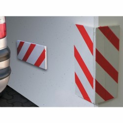 Pannello Adesvi 13,7x100 Antiurt.2pz A Fasce Bia-ros In Busta
