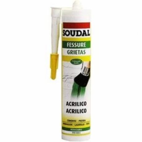 Silicone Soudal Bianco Acrilico Ml 300