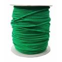 Treccia Elastica D.08 Verde / Nero Standard Con Segnalino