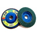 Disco Lamellare Zirconio D 115 Gr 40 S/p