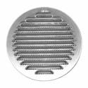 Griglia Aerazione Alluminio Tonda Fissa D 100