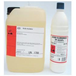 Acido Cloridrico 28/32% Lt.4 Marten