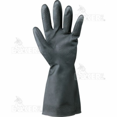 Gloves Black China Tg-9-In-Latex