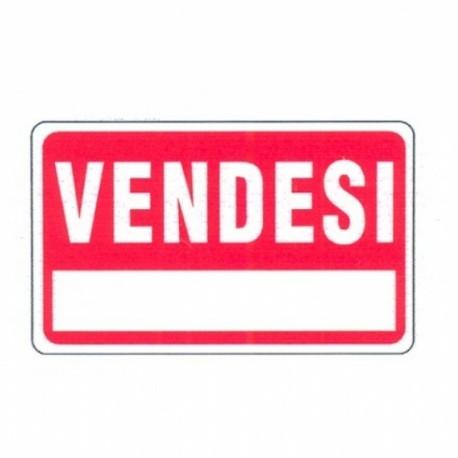 SEGNALE VENDESI PLASTIFICATO CM 30X20