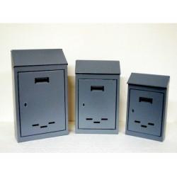 Cassetta Posta C T 4 Grigio 230x80x350