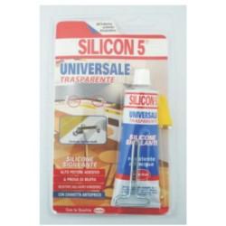 Silicone 5 Trasparente Tubetto Ml 60