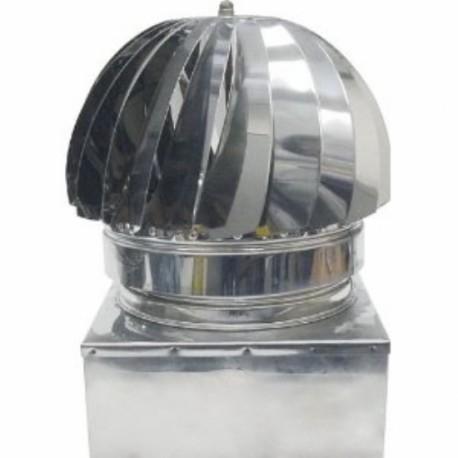 TESTA RADIANTE INOX BAGNO OLIO 35X35