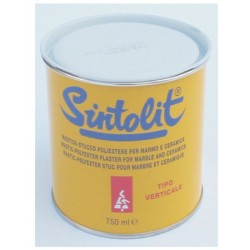 Sintolit Verticale 750 Ml.stuc/mast. Colore Paglierino Per Marmo