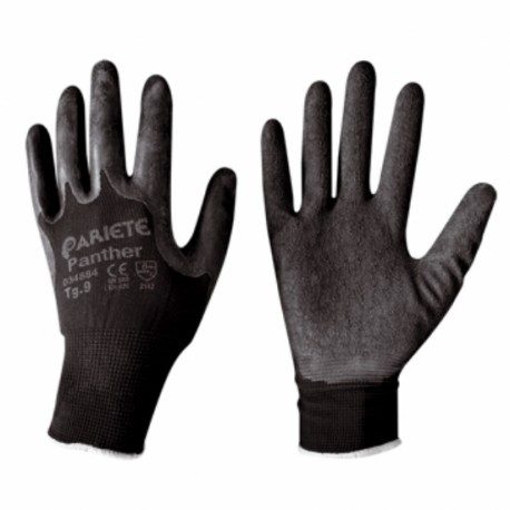 Gloves Latex Wrinkled Tg 8 Panther