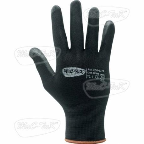 Gloves Polyurethane Black Tg 8