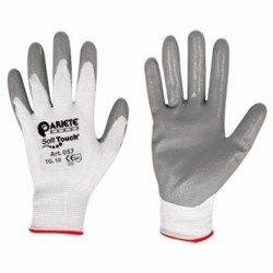Gloves Soft Touch Tg 8 Grey Nitrile