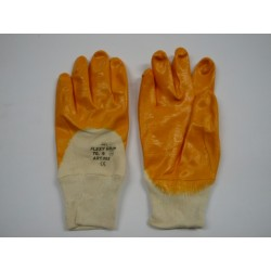 Gloves Flexi Grip Orange Tg 9