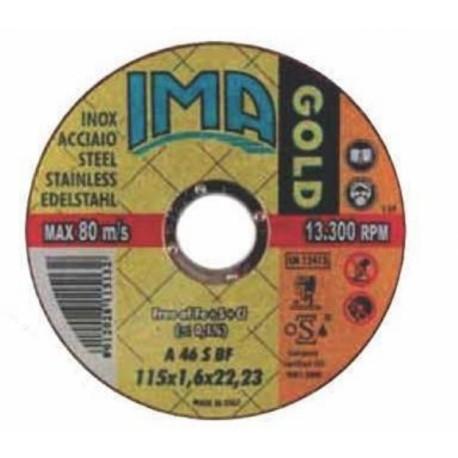 Disco Taglio Ferro Gold 150x1.6x22 Inox