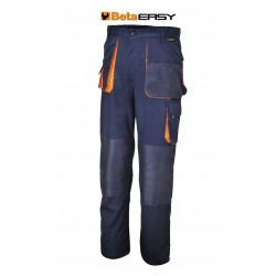 Pantaloni Easy Twill 180gr Blue Tg.s