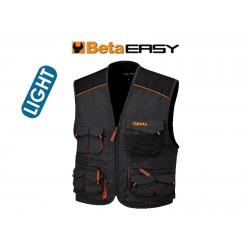 Gilet Easy Twill 180gr Grey Tg.s