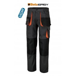 Pantaloni Easy Twill 180gr Grey Tg.xl