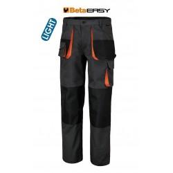 Pantaloni Easy Twill 180gr Grey Tg.s
