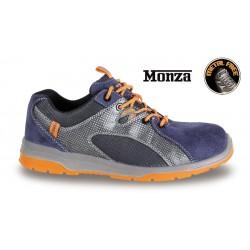Scarpe Sneakers Monza Pelle-mesh S1p Blu 44