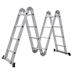 Scala Multiposizione 4+4+4+4 Alluminio
