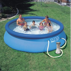 Piscina Intex Easy Cm 457x91 Con Pompa Filtro