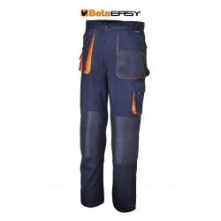 Pantaloni Easy Twill 180gr Blue Tg.xxl
