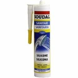 Silicone Soudal.sanit. Bianco Ml.300 Antimuffa