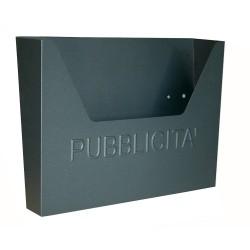 Cassetta Postale Pubblicita'  Hellas Inox