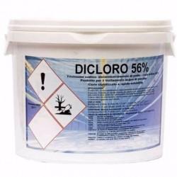 Cloro Per Piscine Dicloro 56% Granulare Kg 5
