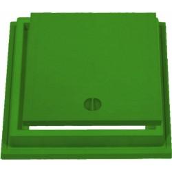 Chiusino Con Telaio Verde 40x40