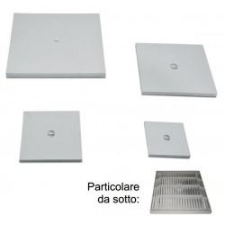 Chiusino Singolo 55x55 S/telaio Supe Con Foro + Bullone