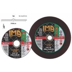 Disco Ferro Imach3 - 115x2,2x22,23 Taglio - Sbavo - Rifinitura