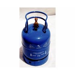 Bombola Gas Gpl Kg.1 Norm.2010/35/ue Con Collare Di Sicurezza