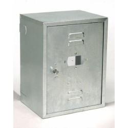 Cassetta Cont Gas 45x30x25 Zincata