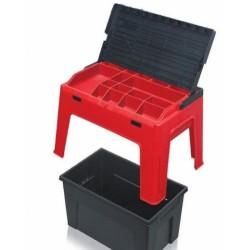 Sgabello Tool Box Porta Utensili Mis. Larg.460 Xprof. 280 X H. 300