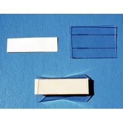 Portaetichetta X Cassetta Lett.ct2 Completa Di Cartoncino