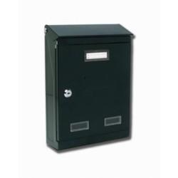 Cassetta Posta Mod.evoluzione Verde Mis.320x220x75