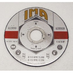 Disco Taglio Alluminio Gold 115x1.6