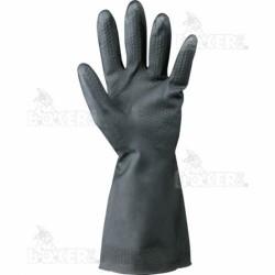 手袋黒中国Tg11ラテックス