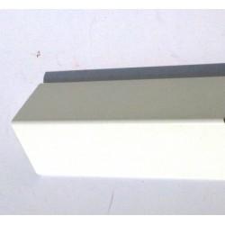 Paraspigoli Pvc 4x4 M 3 Liscio Bianco