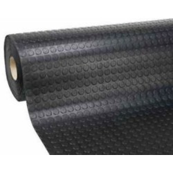Pavimento Bullonato.pvc Mt.2x20 Nero Tipo Bollo Superlight Mm.1,10
