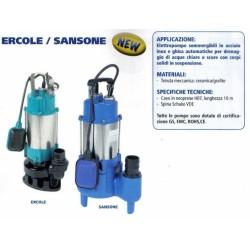 Elettropompa Ercole450sw Acque Chiar Cavo Mt.10 Portata 12.000 Lt./ Ora