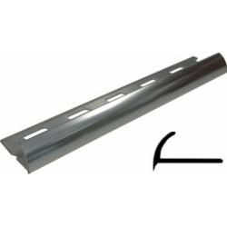 Profilo Jolly H 8 Alluminio Satinato
