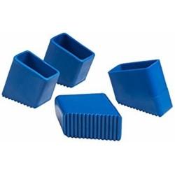 Piedini Scala Domestica Blu-giusy Confezione 4 Pz