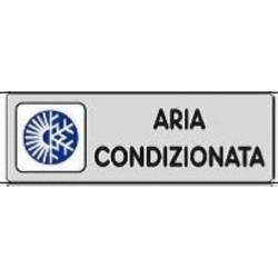 Segnale Adesivo Cm.15x5 Aria Condiz.