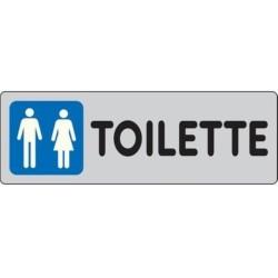 Segnale Adesivo Cm.15x5 Toilette-mf