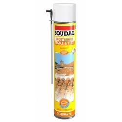 Schiuma.poliur.manu.x Tegole E Tetti Ml.750 - Soudal