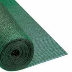 Rete Parking H.mt.2 X Ml.100 Mq.200 Ombra 90% Mon E Bandella Verde-nero