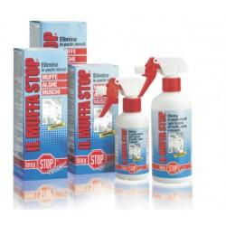 Muffa Stop 250 Ml. Detergente A Base Di Cloro Attivo Concentrato