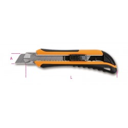 Cutter Bimateriale Lama 18mm Bm